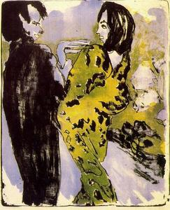 Emile Nolde - Young Couple 1