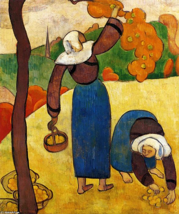 Breton Peasants by Emile Bernard (1868-1941, France)