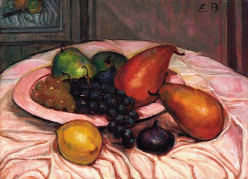 Still life by Emile Bernard (1868-1941, France) | Museum Quality Reproductions | WahooArt.com