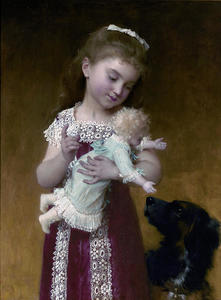 Emile Munier - The Girl and the doll