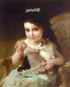 Emile Munier - The Little Girl