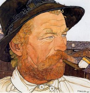 Ernest Bieler - Red Man