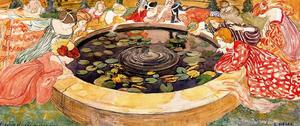 Ernest Bieler - Sketch for ''The mysterious Water'' 2