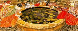 Ernest Bieler - Sketch for --The mysterious Water-- 3