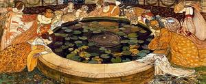 Ernest Bieler - Sketch for ''The mysterious Water''