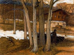 Ernest Bieler - The House of the painter in Savièse