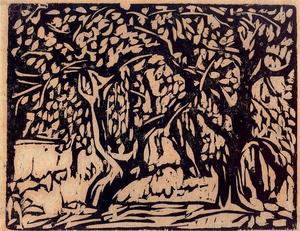Ernst Ludwig Kirchner - Apple trees laden with fruit