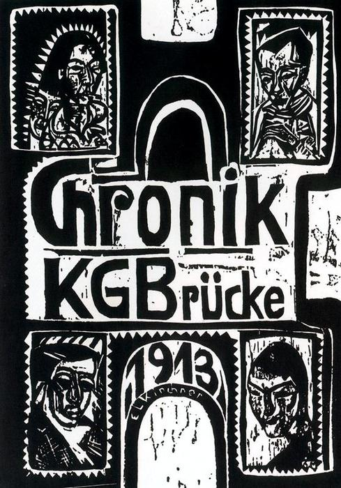 Chronicle of the Artists from the Bridge Group by Ernst Ludwig Kirchner (1880-1938, Germany) | WahooArt.com