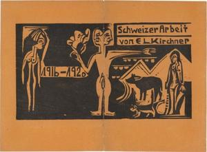 Ernst Ludwig Kirchner - Cover from exhibition catalogue