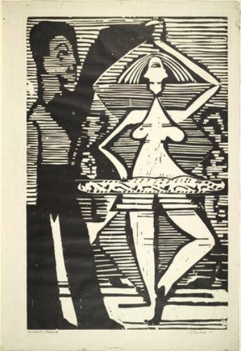 Dancing Couple, 1933 by Ernst Ludwig Kirchner (1880-1938, Germany)