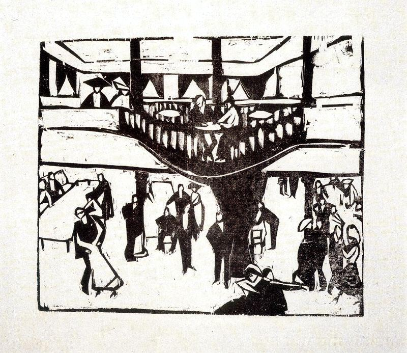 Eldorado by Ernst Ludwig Kirchner (1880-1938, Germany) | Museum Quality Reproductions | WahooArt.com