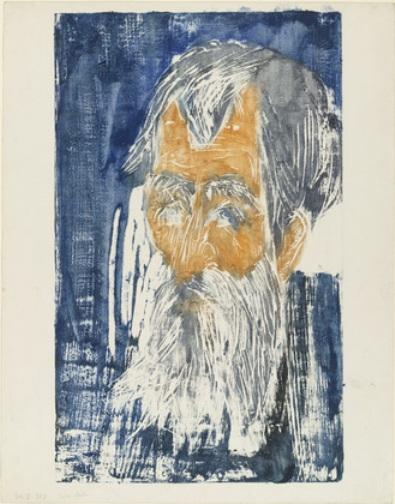 Father Müller 1 by Ernst Ludwig Kirchner (1880-1938, Germany)