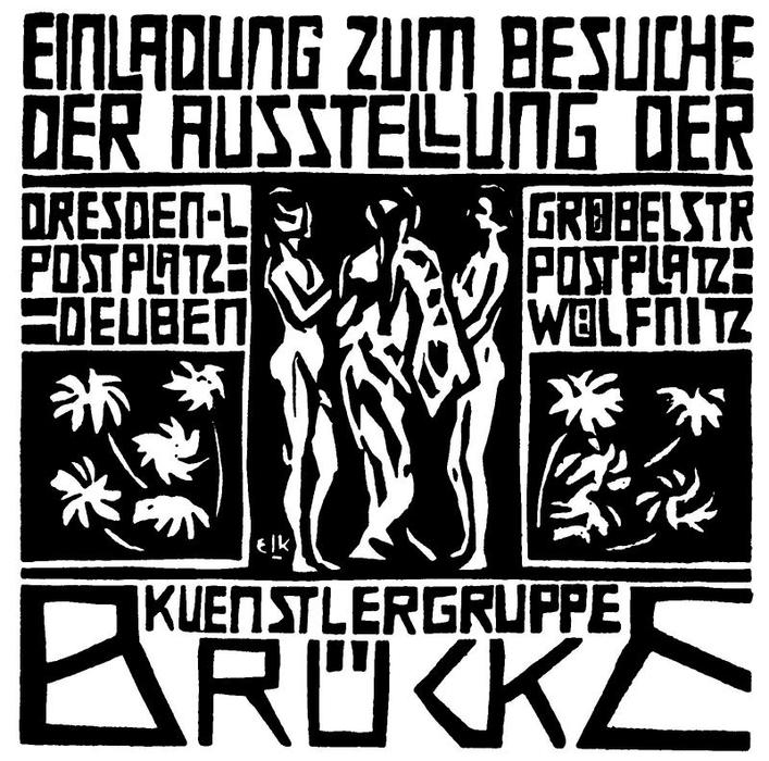 Invitation by Ernst Ludwig Kirchner (1880-1938, Germany) | WahooArt.com