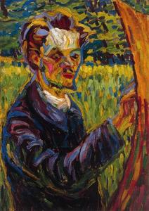Ernst Ludwig Kirchner - Portrait of the painter Erich Heckel