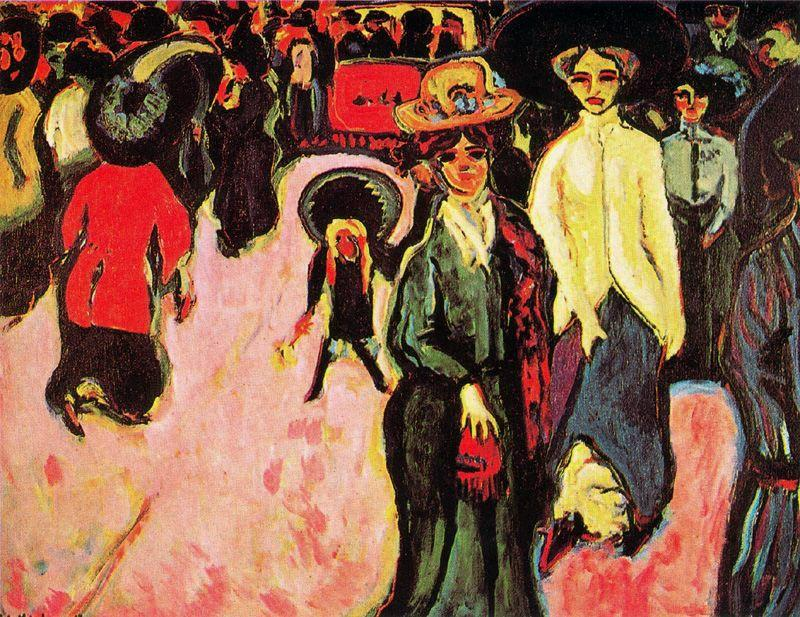 The calla by Ernst Ludwig Kirchner (1880-1938, Germany) | Oil Painting | WahooArt.com