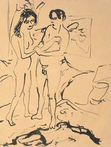 Ernst Ludwig Kirchner - The Couple