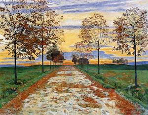 Ferdinand Hodler - Autumn Evening