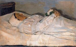 Ferdinand Hodler - Woman on her deathbed