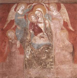 Francesco Di Giorgio Martini - Madonna and Child with Angels
