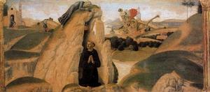 Francesco Di Giorgio Martini - Three scenes from the Life of St. Benedict 2