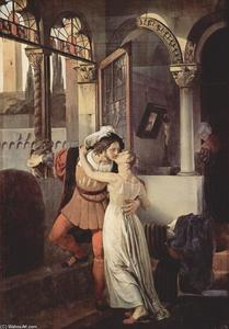 Francesco Hayez - The last kiss given to Juliet by Romeo