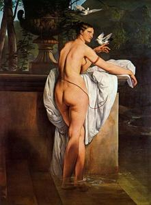 Francesco Hayez - Venus Playing with Two Doves (Portrait of the Ballerina Carlotta Chabert)