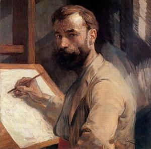 Frantisek Kupka - Self-Portrait