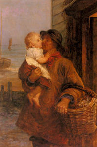 Frederick Morgan - A Welcome For Daddy