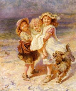 Frederick Morgan - On the Beach