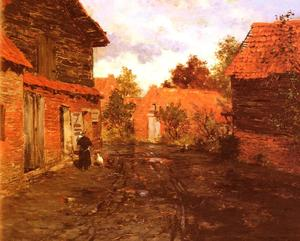 Frits Thaulow - After the Rain