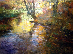Frits Thaulow - At Quimperle