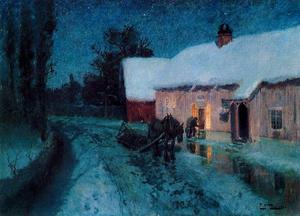 Frits Thaulow - Night
