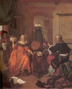 Gabriel Metsu - The Music Party