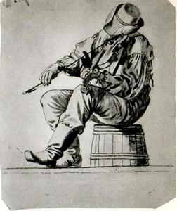 George Caleb Bingham - Study of a Fiddler 1