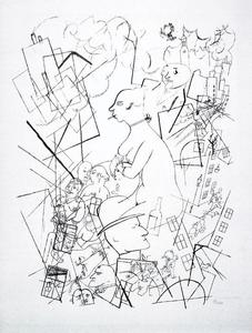 George Grosz - An Eva, My girlfriend