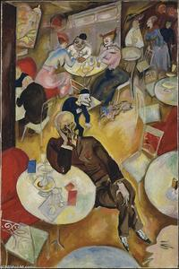 George Grosz - Cafe