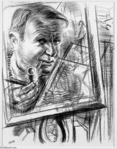 George Grosz - Self-Portrait