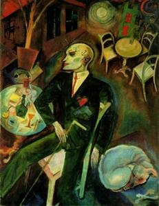 George Grosz - The lovesick man