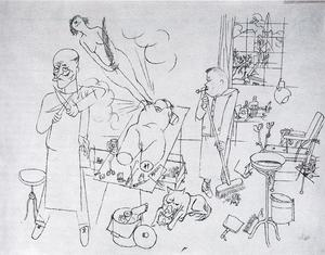 George Grosz - The way of all flesh, IV