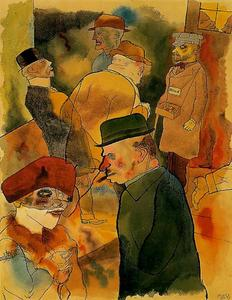 George Grosz - Twilight