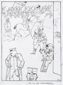 George Grosz - We Are Not Able League