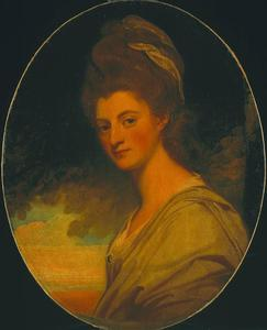 George Romney - Elizabeth, Countess of Craven, Later Margravine of Anspach