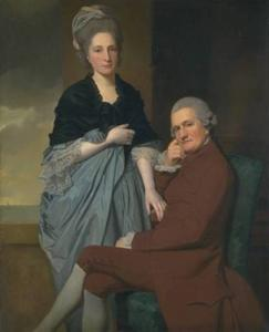 George Romney - Mr and Mrs William Lindow