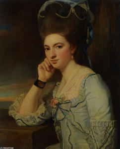 George Romney - Portrait of a Lady