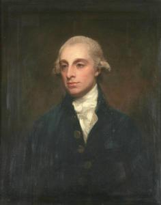 George Romney - Portrait of Sir Robert John Buxton