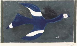 Georges Braque - Bird 1