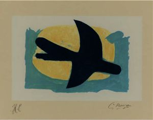 Georges Braque - Blue and Yellow Bird
