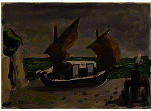 Georges Braque - Boats 1