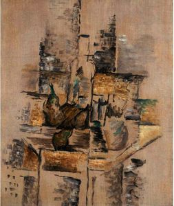 Georges Braque - Bottle and Fruit