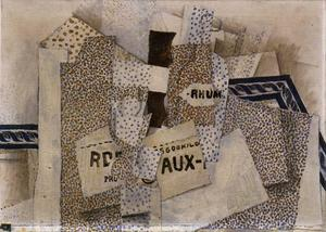 Georges Braque - Bottle of Rum